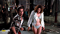 A still #5 from Ace Ventura: Pet Detective (1994) with Sean Young and Jim Carrey