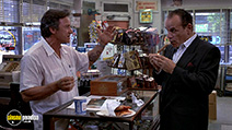 A still #4 from Smoke (1995) with Harvey Keitel and Victor Argo