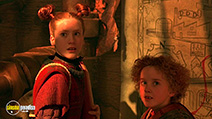 A still #20 from The Borrowers (1997) with Tom Felton and Flora Newbigin