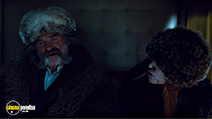 A still #7 from The Hateful Eight (2015) with Jennifer Jason Leigh and Kurt Russell
