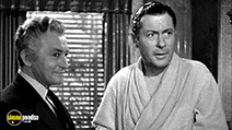 A still #2 from Here Comes Mr. Jordan (1941) with Robert Montgomery and Claude Rains