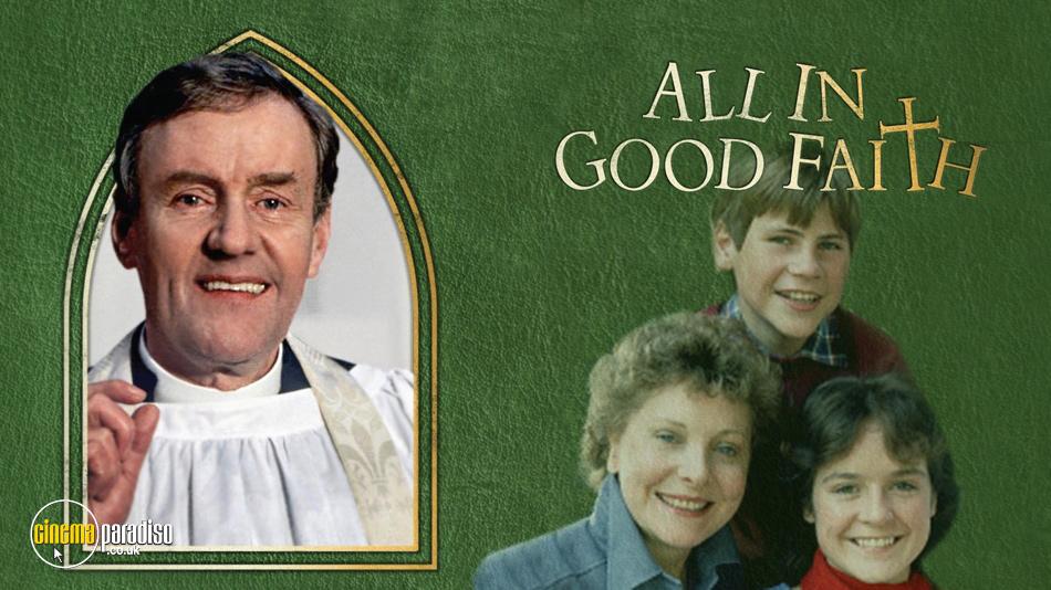 All in Good Faith online DVD rental