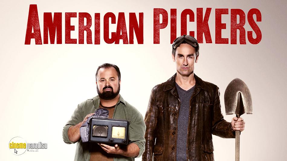 American Pickers online DVD rental