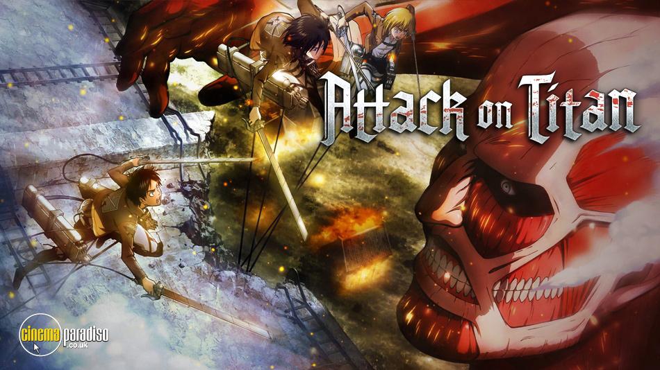 Attack on Titan (aka Shingeki no Kyojin) online DVD rental