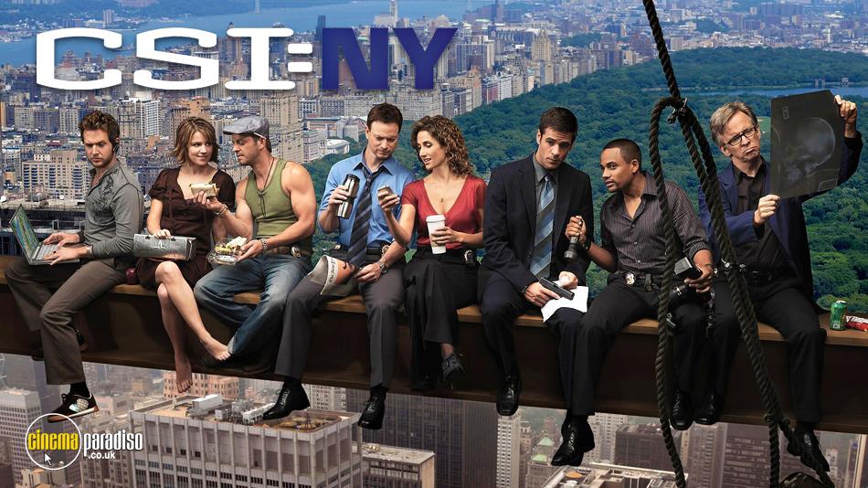 CSI New York online DVD rental