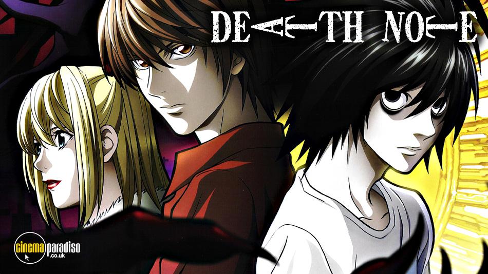 Death Note online DVD rental