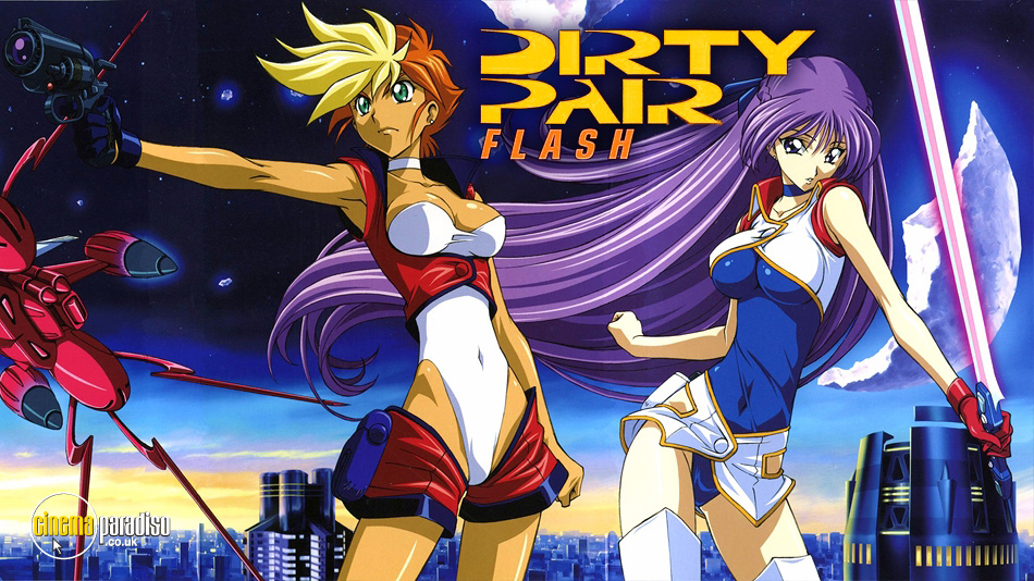 Dirty Pair Flash online DVD rental
