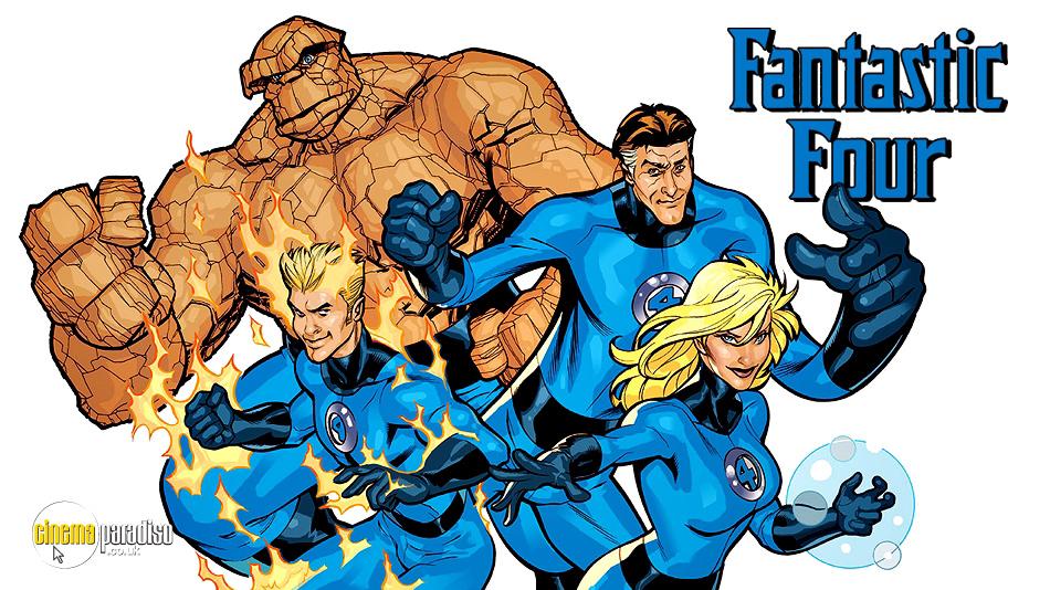 Fantastic Four online DVD rental