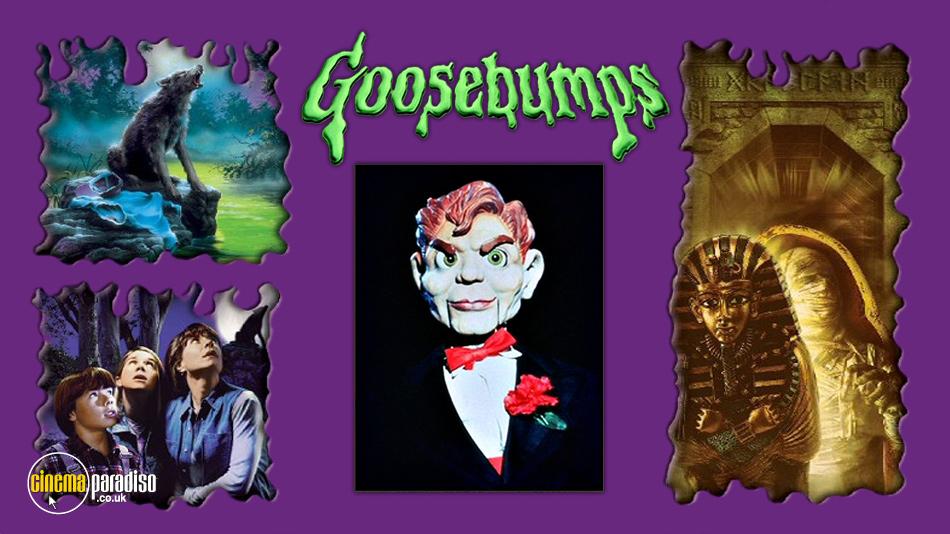 Goosebumps online DVD rental