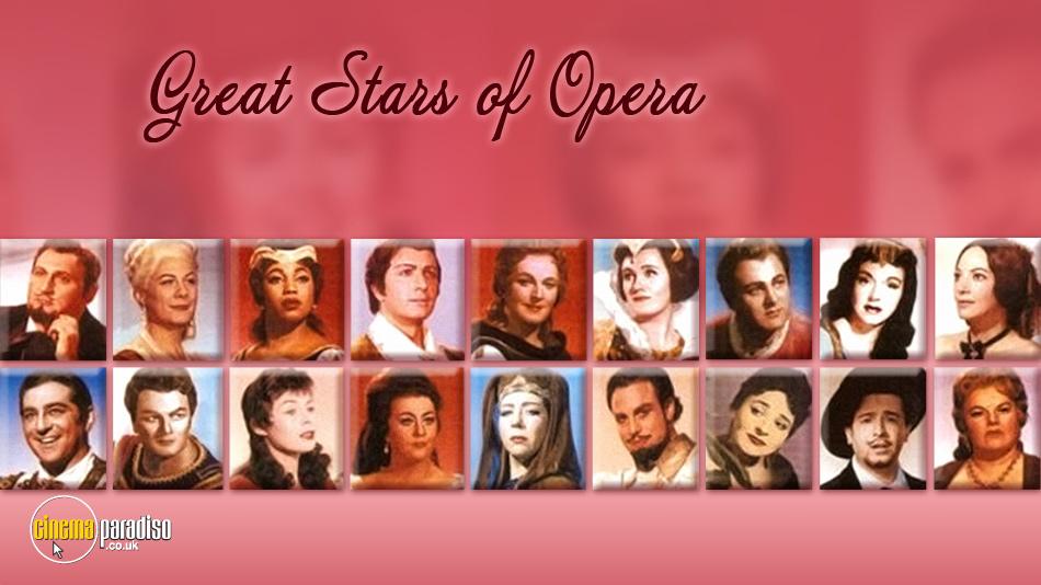 Great Stars of Opera online DVD rental