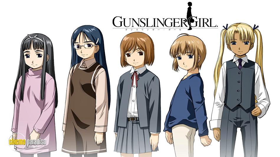 Gunslinger Girl online DVD rental