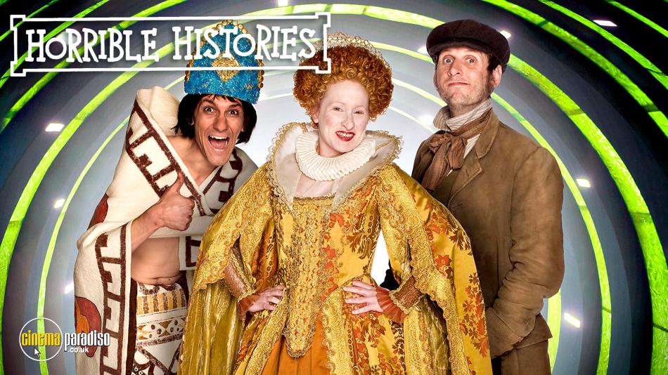 Horrible Histories online DVD rental