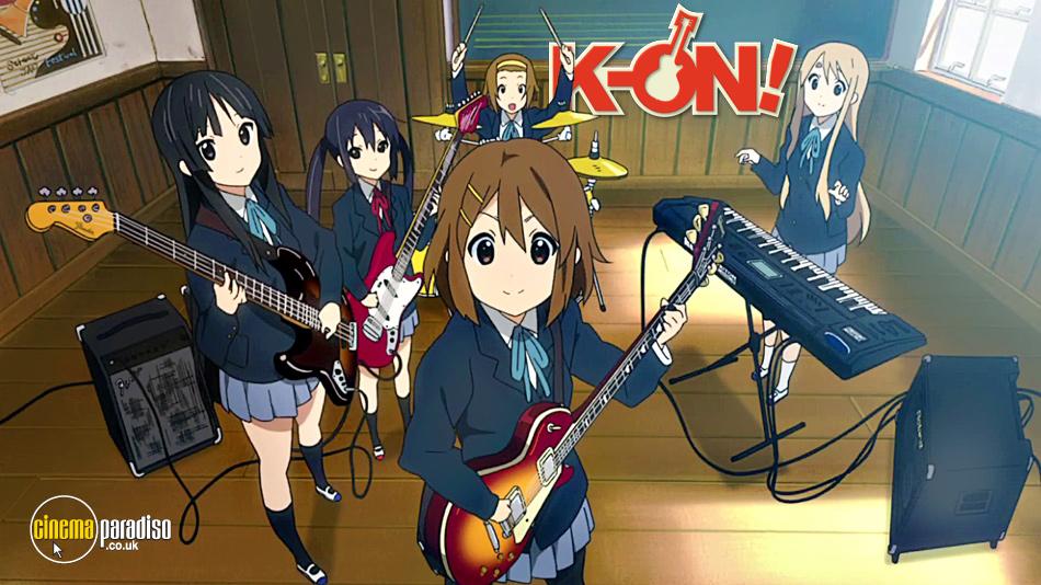 K-ON! online DVD rental
