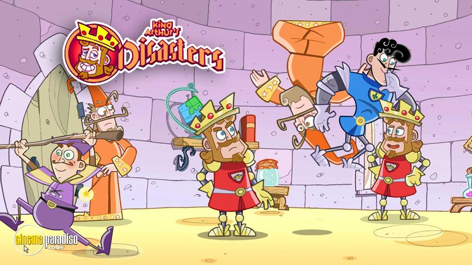 King Arthur's Disasters online DVD rental