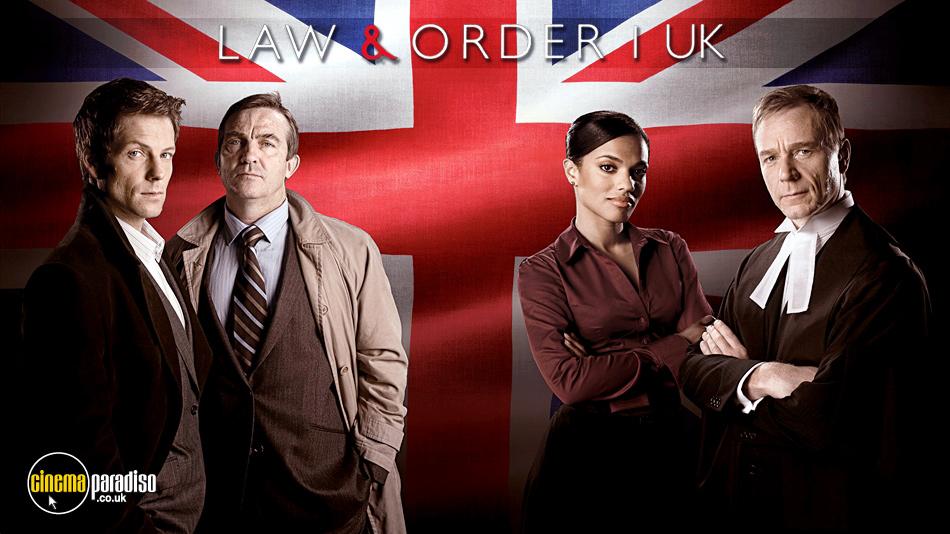 Law and Order UK online DVD rental