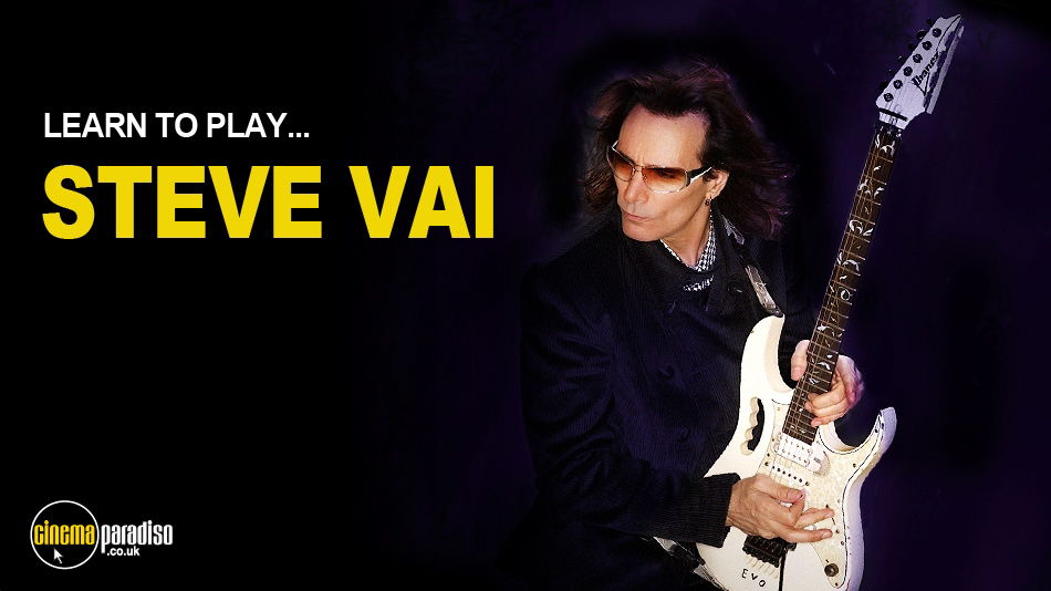 Lick Library: Learn to Play Steve Vai online DVD rental