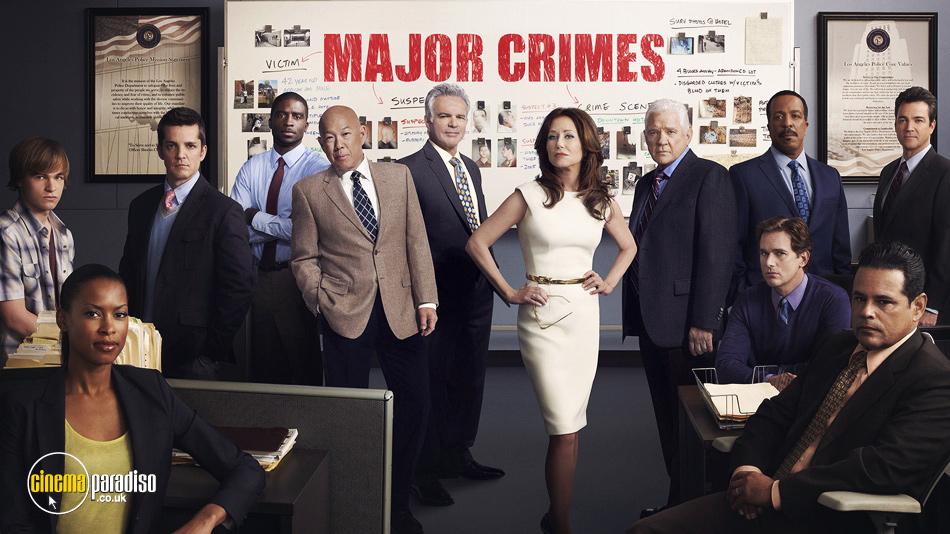 Major Crimes online DVD rental