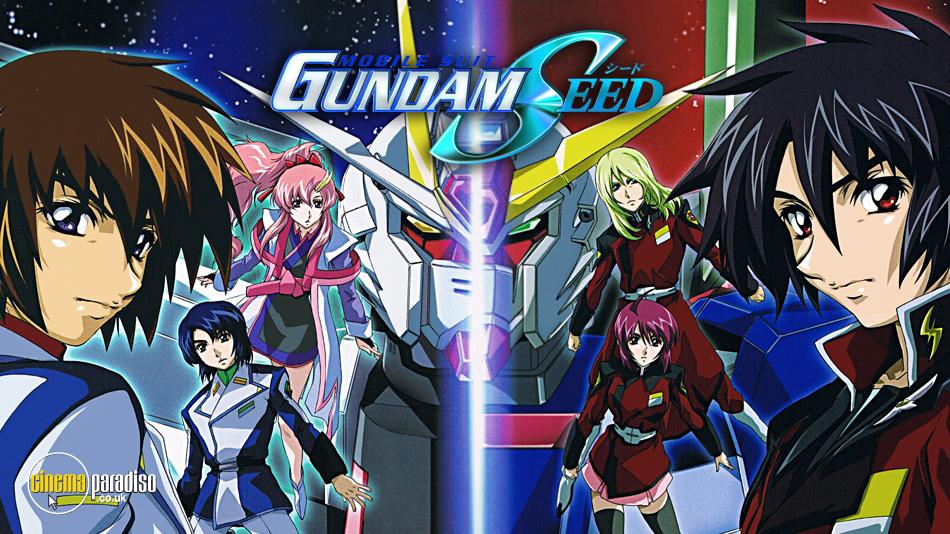 Mobile Suit Gundam Seed online DVD rental