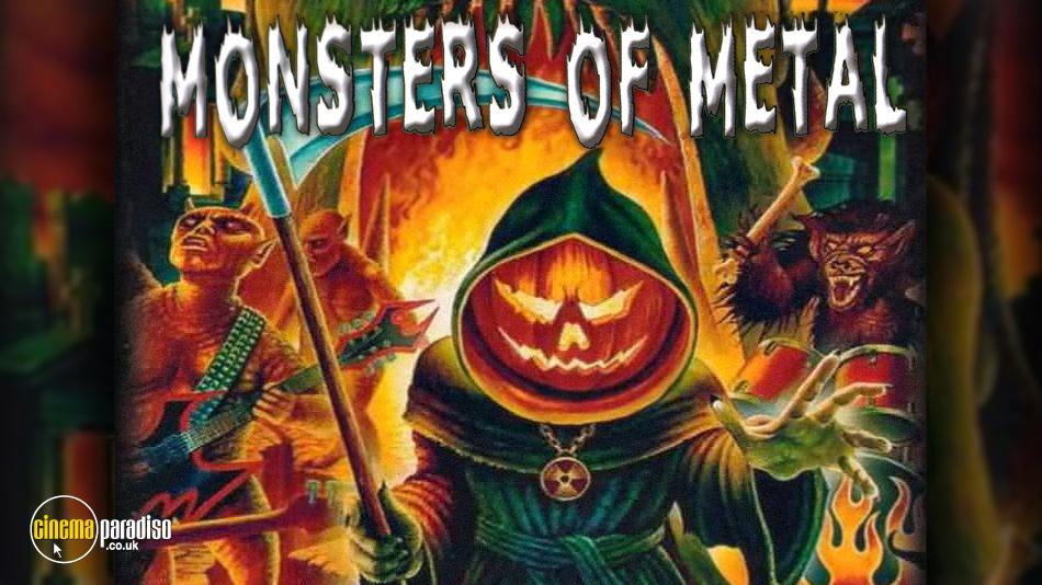 Monsters of Metal online DVD rental