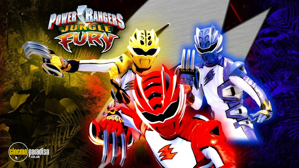 Power Rangers online DVD rental