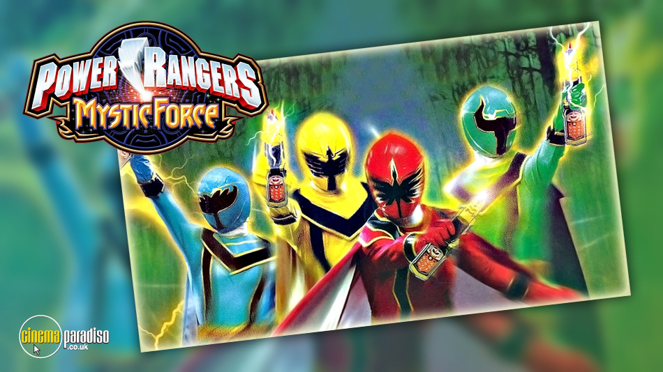 Power Rangers Mystic Force online DVD rental