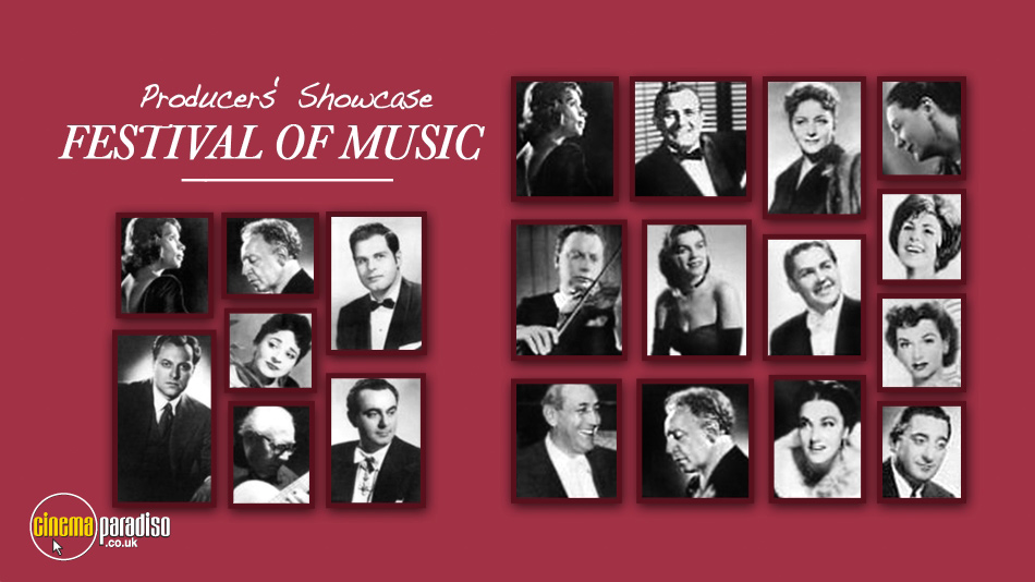 Producers' Showcase Festival of Music online DVD rental