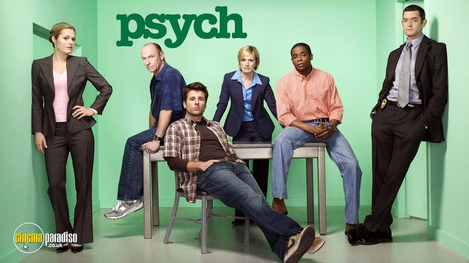 Psych online DVD rental