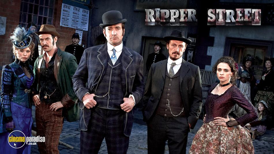 Ripper Street online DVD rental