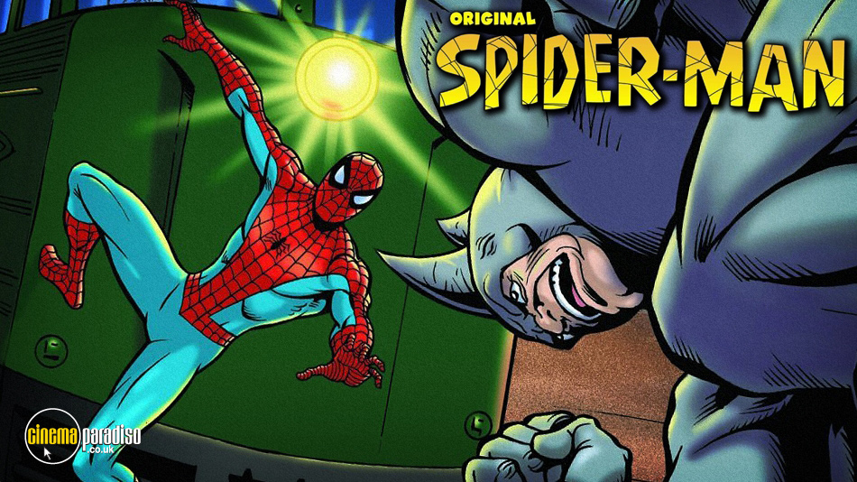 Spider-Man Animated Series online DVD rental