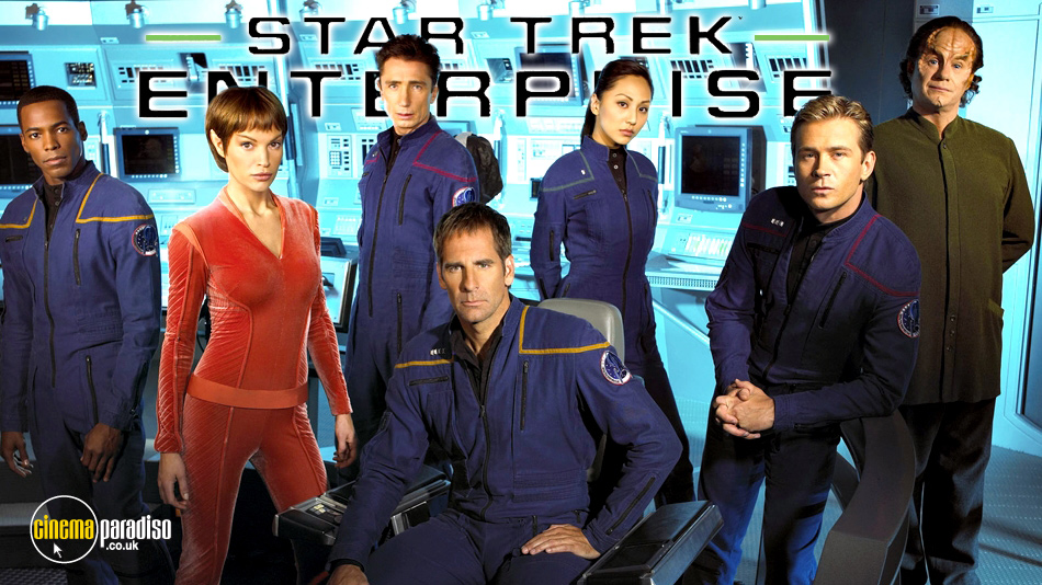 Star Trek Enterprise online DVD rental