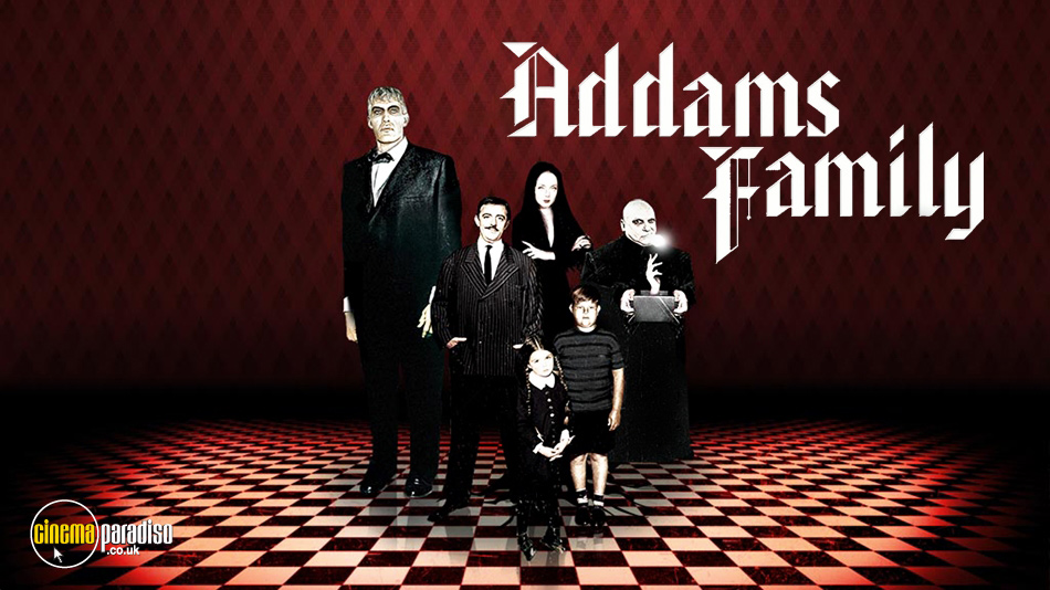 The Addams Family online DVD rental
