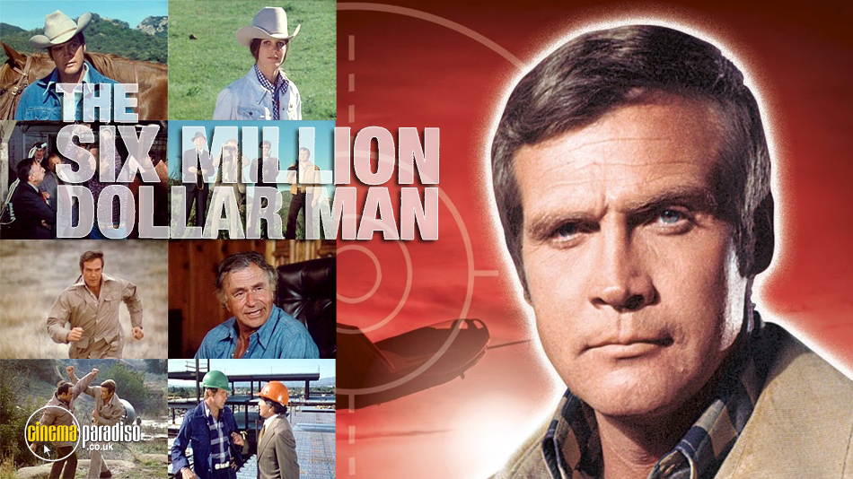 The Six Million Dollar Man online DVD rental