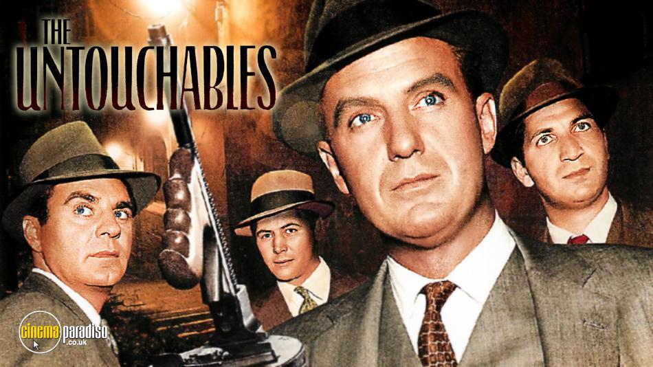 The Untouchables online DVD rental