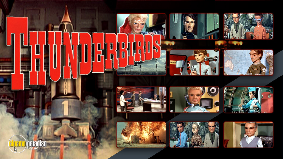 Thunderbirds online DVD rental