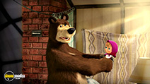 A still #36 from Masha and the Bear: How They Met (2016)