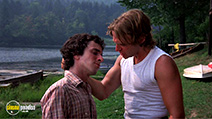 A still #5 from The Burning (1981) with Larry Joshua and Brian Backer