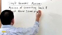A still #22 from The Physics Tutor 2: Oscillations and Simple Harmonic Motion: Part 1 (2011)