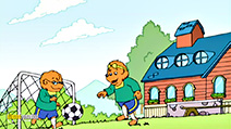 A still #7 from The Berenstain Bears: Go to School (2002)