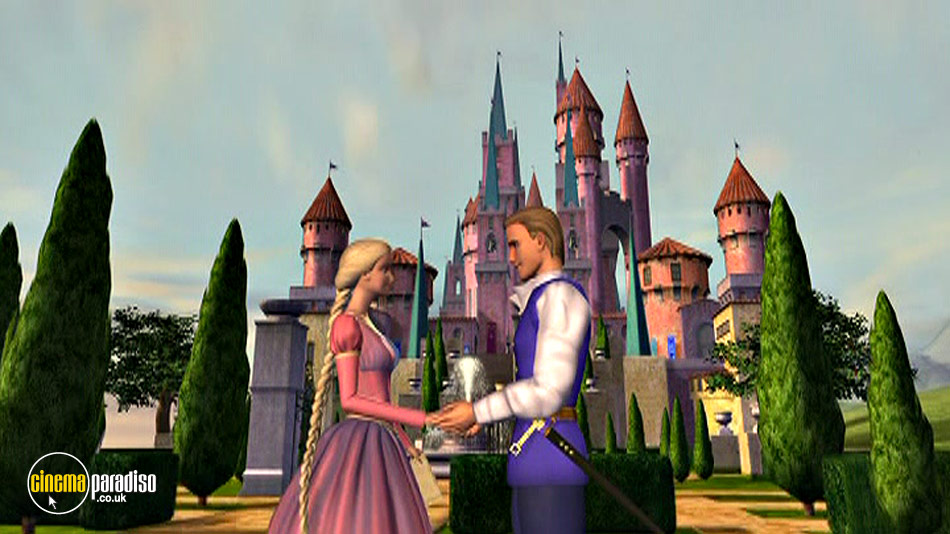 Barbie as Rapunzel online DVD rental