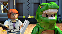 A still #29 from Lego Jurassic World: The Indominus Escape (2016)