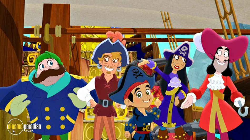 Captain Jake and the Never Land Pirates: The Great Never Sea Conquest! online DVD rental