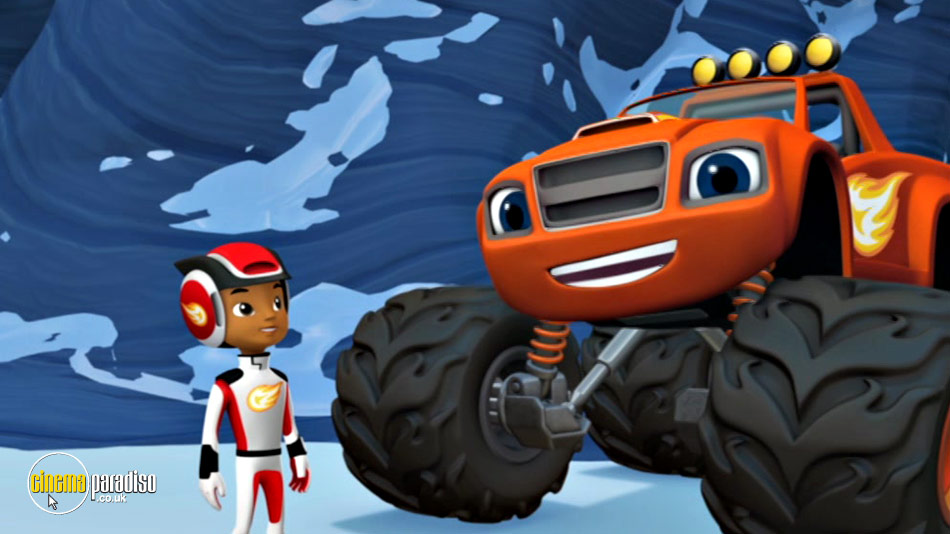 Blaze and the Monster Machines: High-Speed Adventures online DVD rental