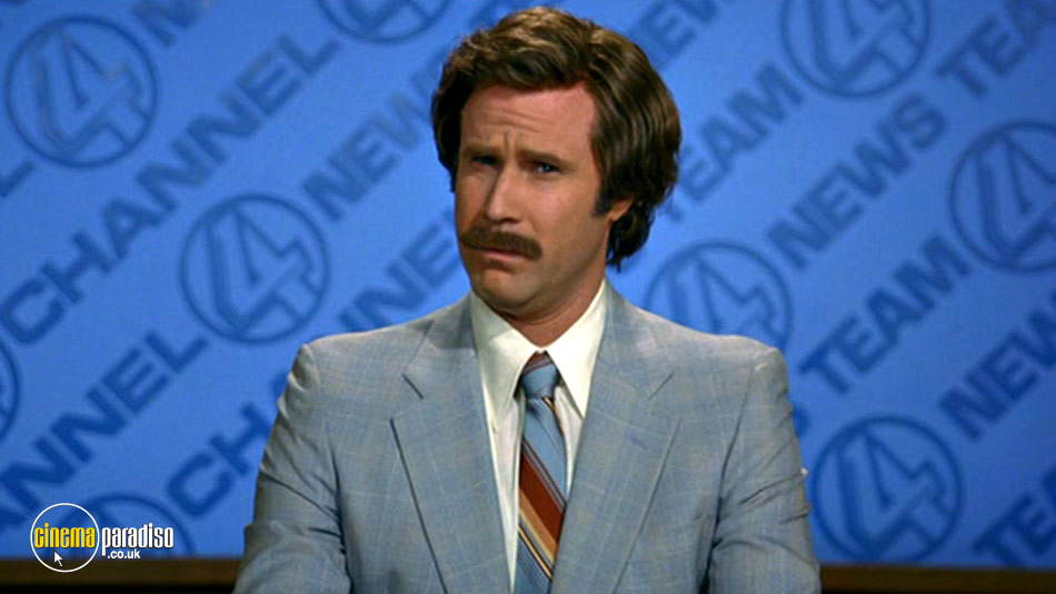 Anchorman Special Edition and Wake Up Ron Burgundy Set online DVD rental