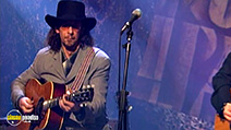 A still #8 from Bob Dylan: Unplugged (1994)