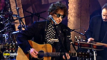 A still #7 from Bob Dylan: Unplugged (1994)