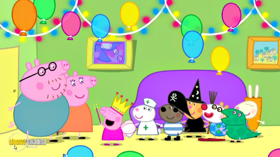 Peppa Pig: The Queen Royal Compilation online DVD rental