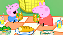 A still #55 from Peppa Pig: Princess Peppa and Sir George the Brave (2007)
