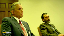 A still #2 from Haywire (2011) with Antonio Banderas and Michael Douglas