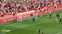 A still #1 from Arsenal FC: Robin Van Persie: 100 Goals (2011)