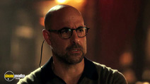 A still #21 from Burlesque with Stanley Tucci